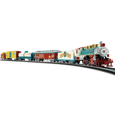 The Ringling Brothers Circus Train Set.