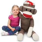 The Giant Sock Monkey.
