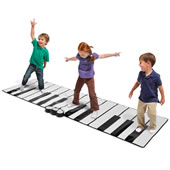 The World�s Largest Toe Tap Piano.