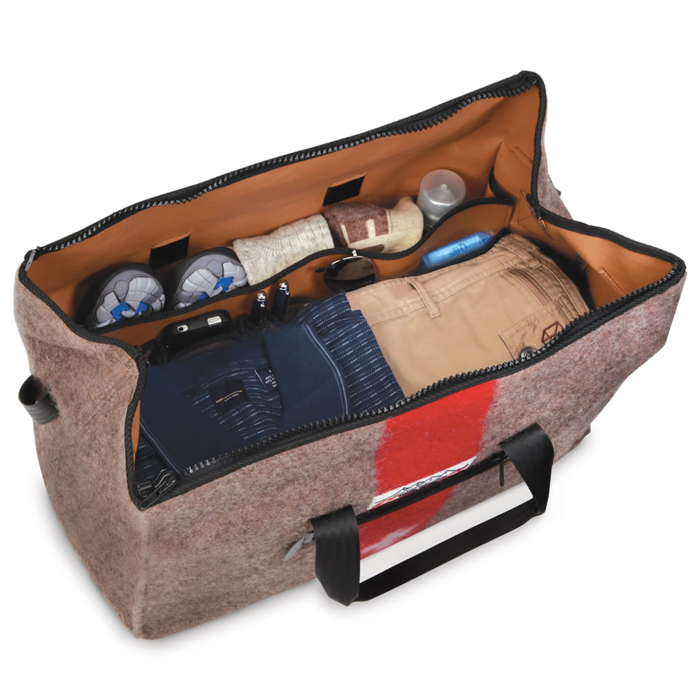 The Genuine Swiss Army Blanket Duffel2