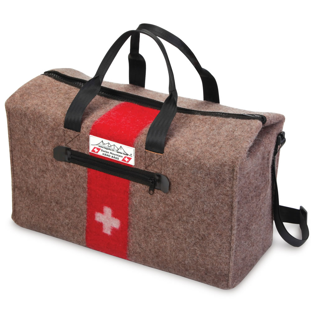The Genuine Swiss Army Blanket Duffel1