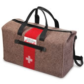 The Genuine Swiss Army Blanket Duffel.