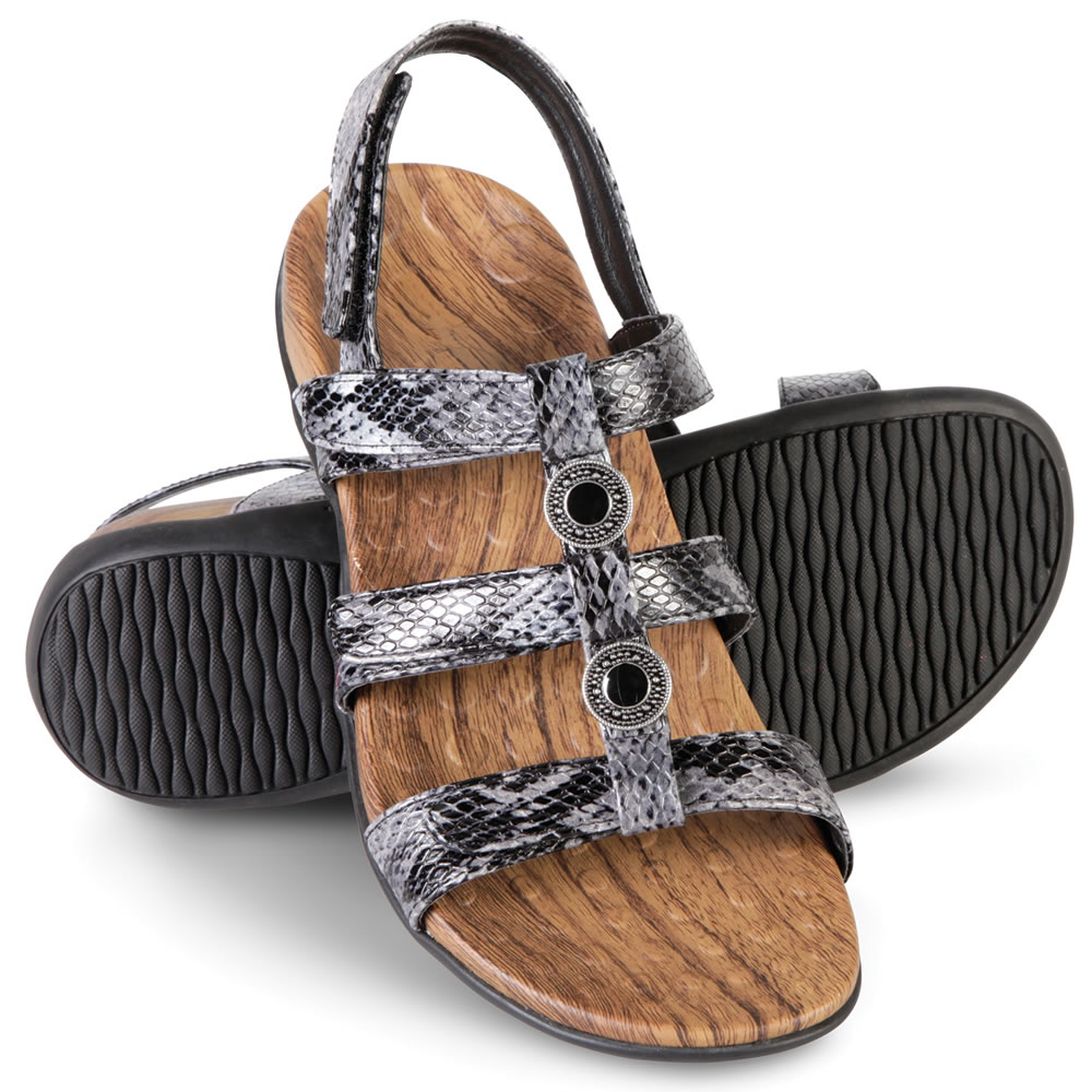 The Lady's Plantar Fasciitis Strap Sandals 1