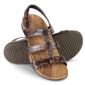 The Lady's Plantar Fasciitis Strap Sandals.