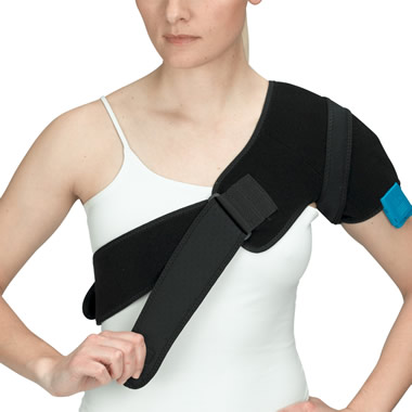 The Hot/Cold Compression Shoulder Wrap.