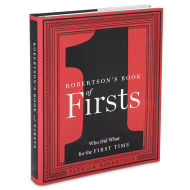 The Book Of Firsts.