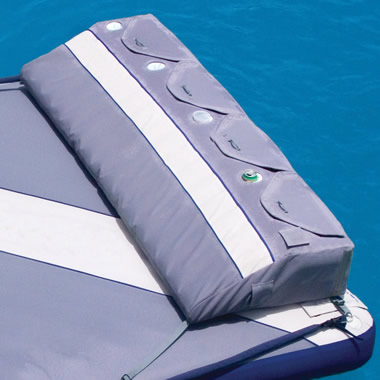 Padded Backrest for The Floating Private Island.