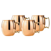 The Copper Moscow Mule Mugs.