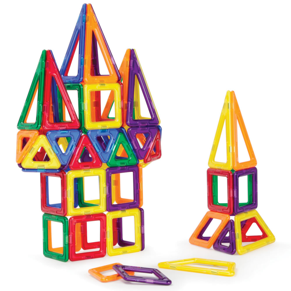 Magnetic Building Toys : The award winning magnetic construction set hammacher