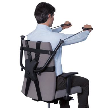 The Office Chair Strength Trainer.