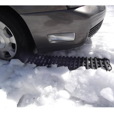 The Stuck In Snow Extrication Kit.