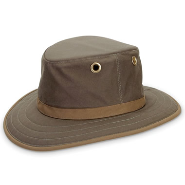 The Wax Cotton Drover's Hat.