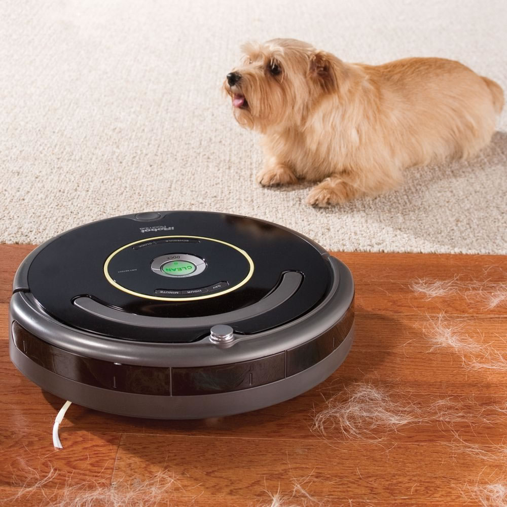 The Pet Bowl Circumventing Roomba 6601