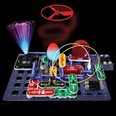 The Snap Together Circuits Light Show.