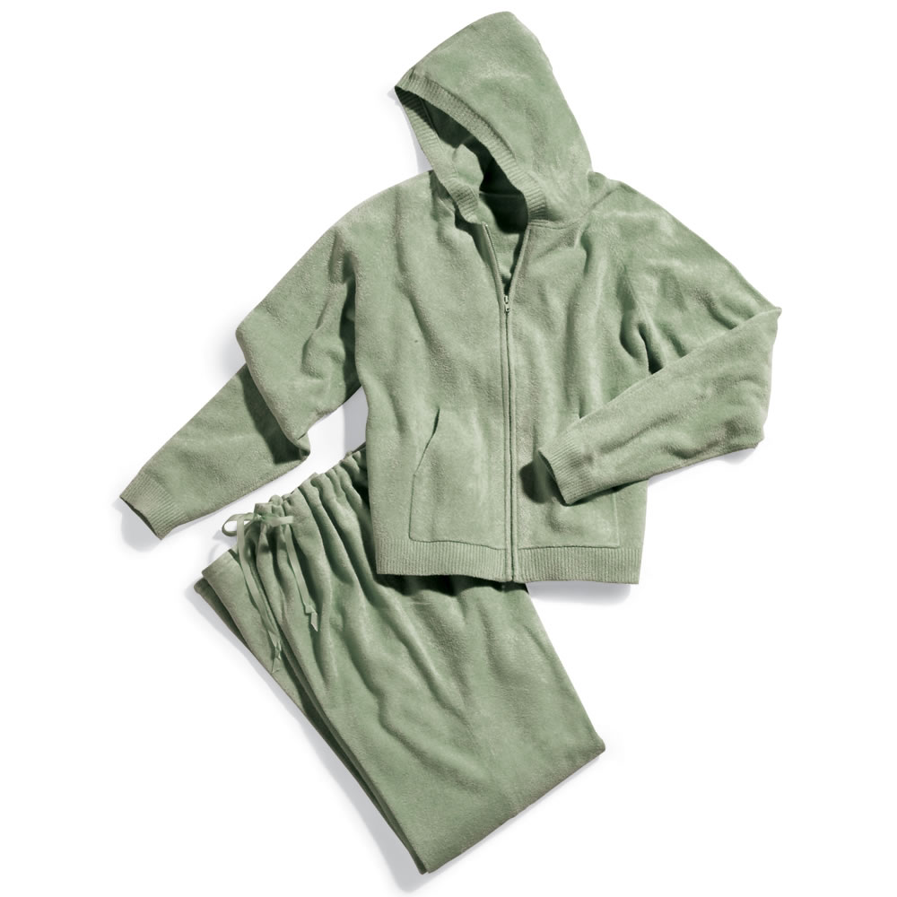 The Superior Softness Spa Wear - Zip Hooded Shirt 2