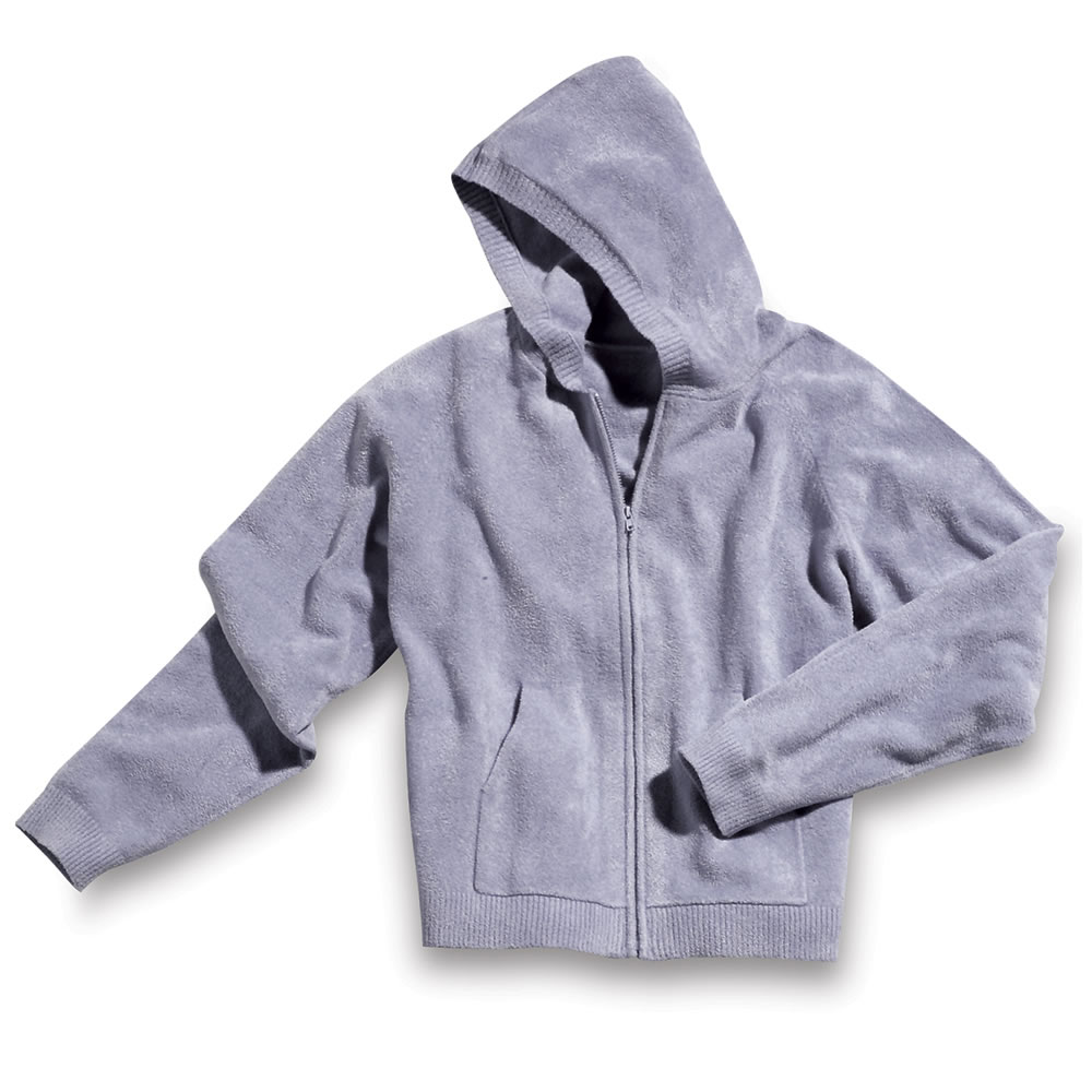 The Superior Softness Spa Wear - Zip Hooded Shirt 1