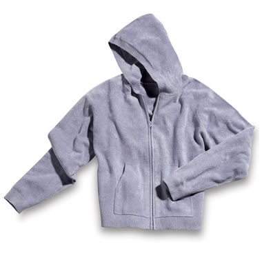 The Superior Softness Spa Wear - Zip Hooded Shirt.