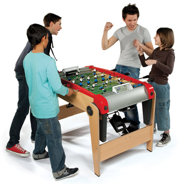 The Foldaway Foosball Table.