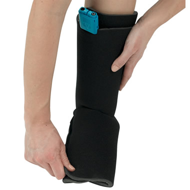 The Hot/Cold Compression Ankle Wrap.