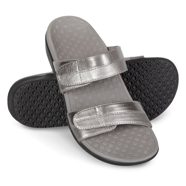 The Lady's Plantar Fasciitis Adjustable Slides.