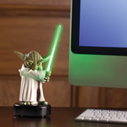 The Motion Activated Talking Yoda Sentry.