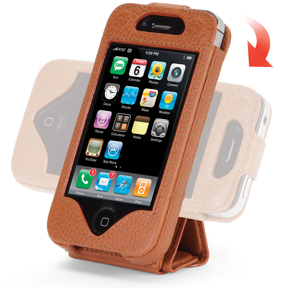 The iPhone 4/4S Case and Stand 8