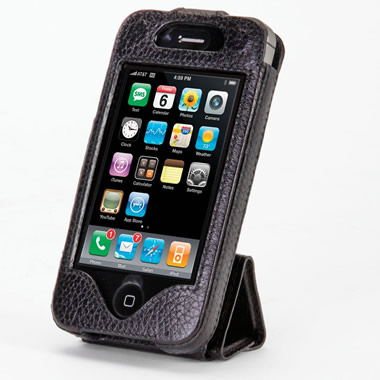 The iPhone 4/4S Case and Stand.