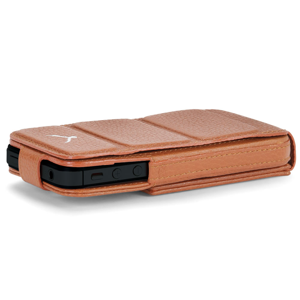 The iPhone 5 Leather Case and Stand 7