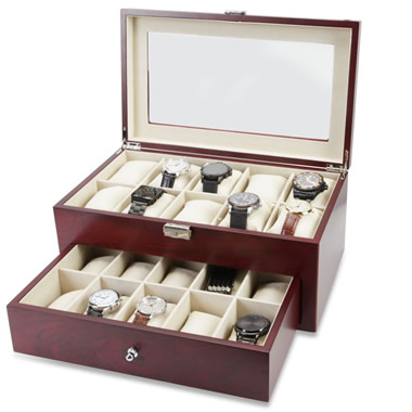 The Gentleman's 20 Watch Valet.