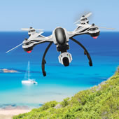 The Auto Return Live Video Camera Drone.
