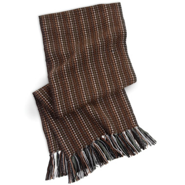The Gentleman's Irish Tweed Scarf.