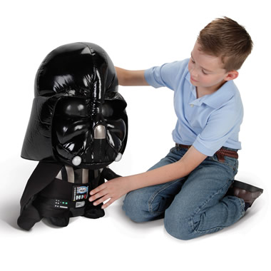 The Talking Plush Darth Vader.