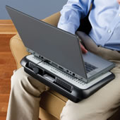 The Electromagnetic Shielding Laptop Tray.