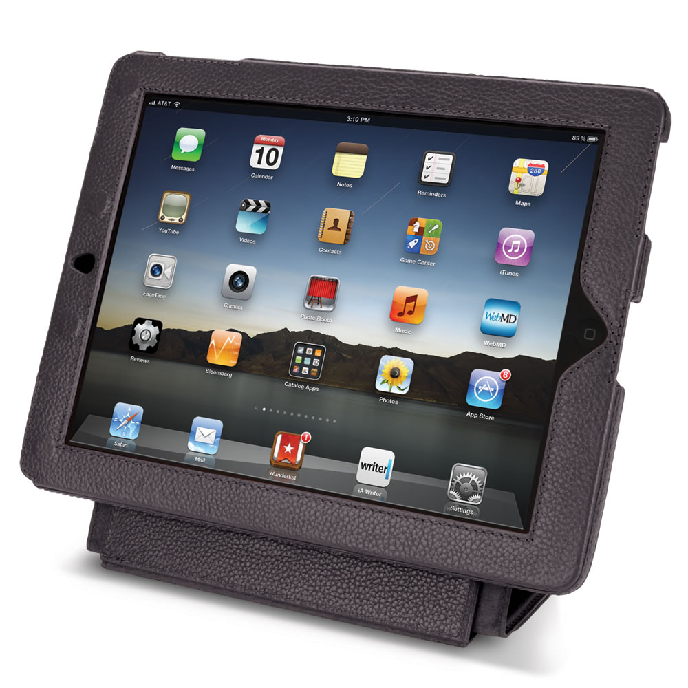The iPad Leather Case and Stand 5