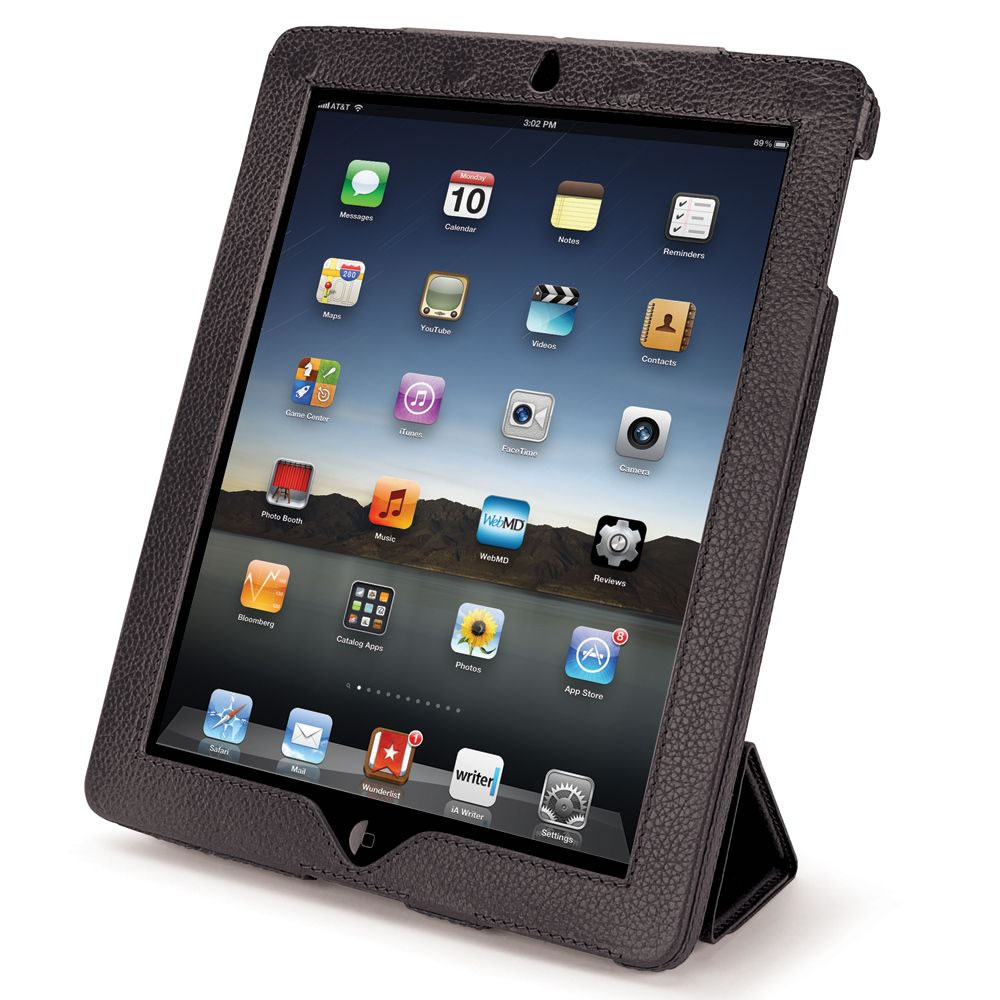 The iPad Leather Case and Stand7