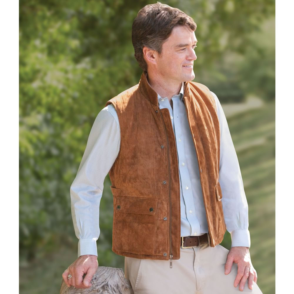 The Gentlemen's Washable Suede Vest 2