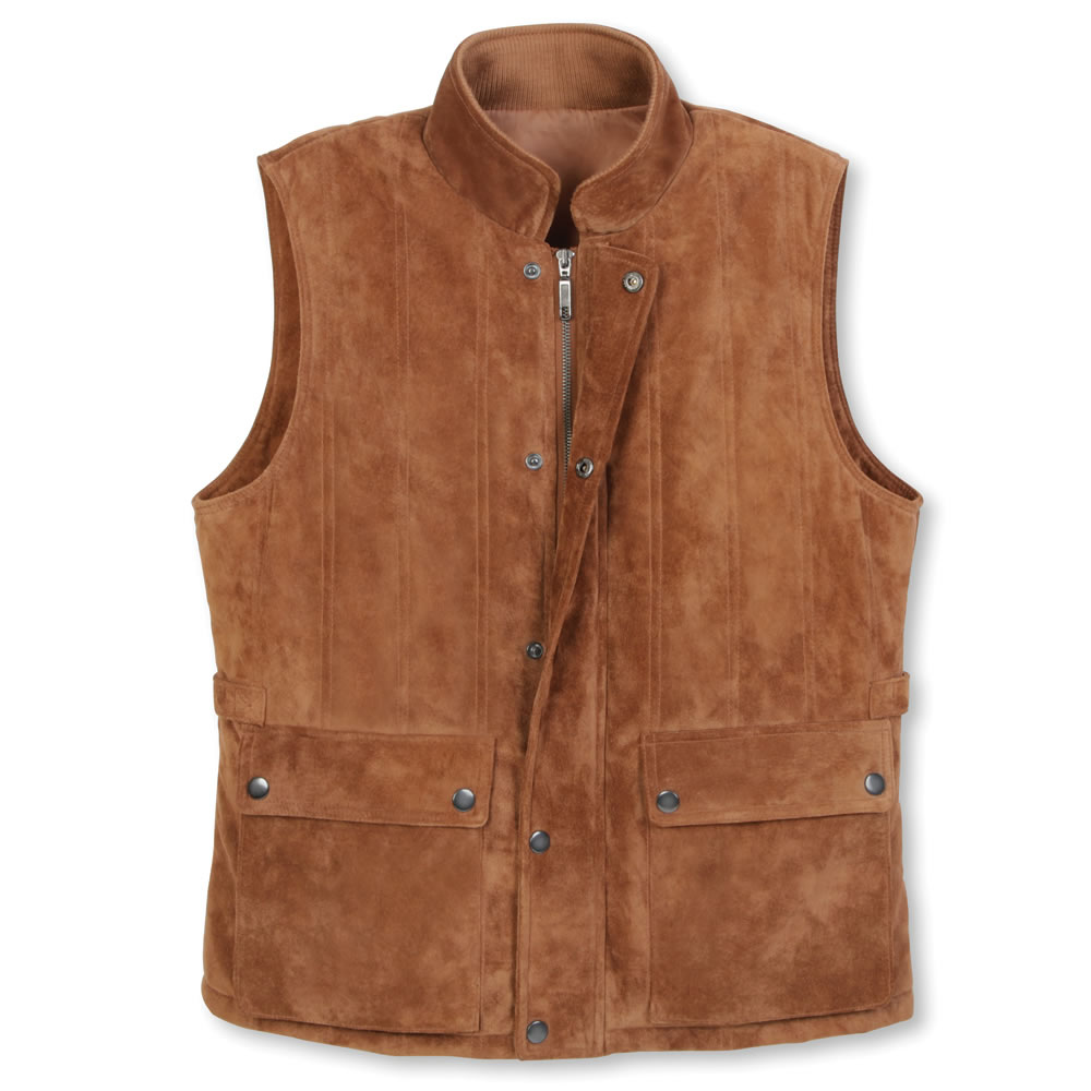 The Gentlemen's Washable Suede Vest 1