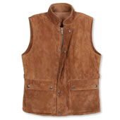 The Gentlemans Washable Suede Vest.