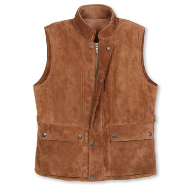 The Gentlemen's Washable Suede Vest.