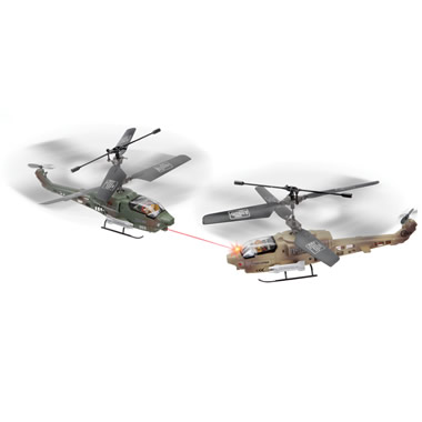The Remote Controlled Dueling Helicopters