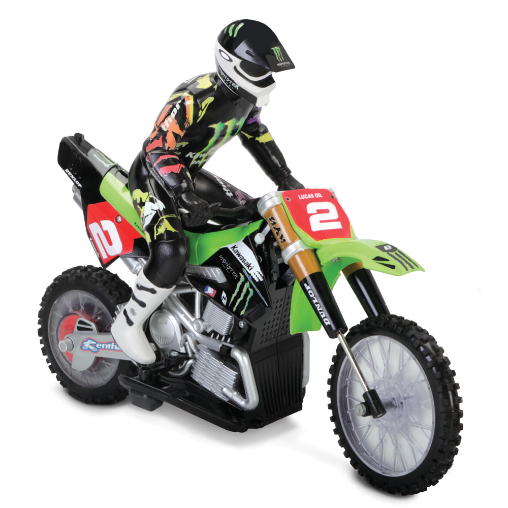 The Back Flipping Remote Controlled Motorcycle 3