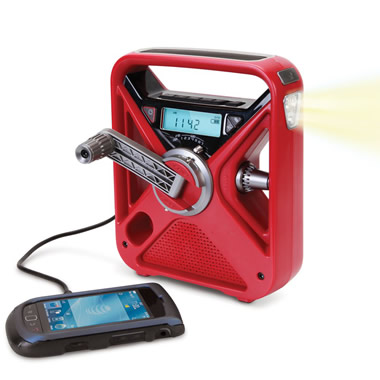 The Crank Powered Emergency Radio