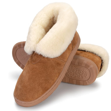 The Lady's Australian Sheepskin Indoor/Outdoor Booties.