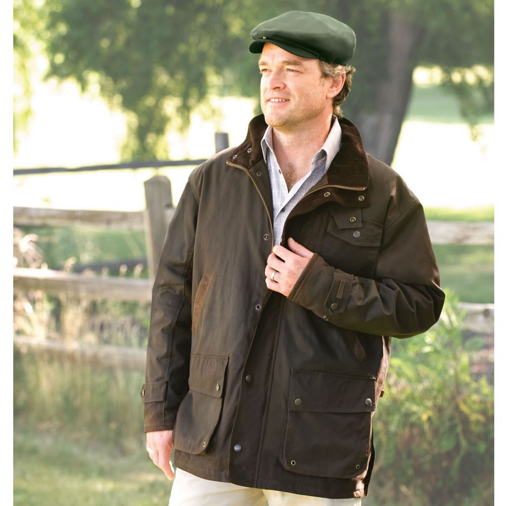 The Genuine Irish Wax Cotton Jacket2