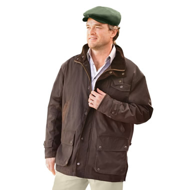 The Genuine Irish Wax Cotton Jacket.