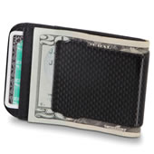 The Carbon Fiber Money Clip.