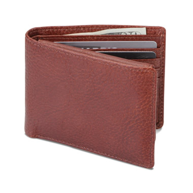 The Genuine Elk Hide Wallet.