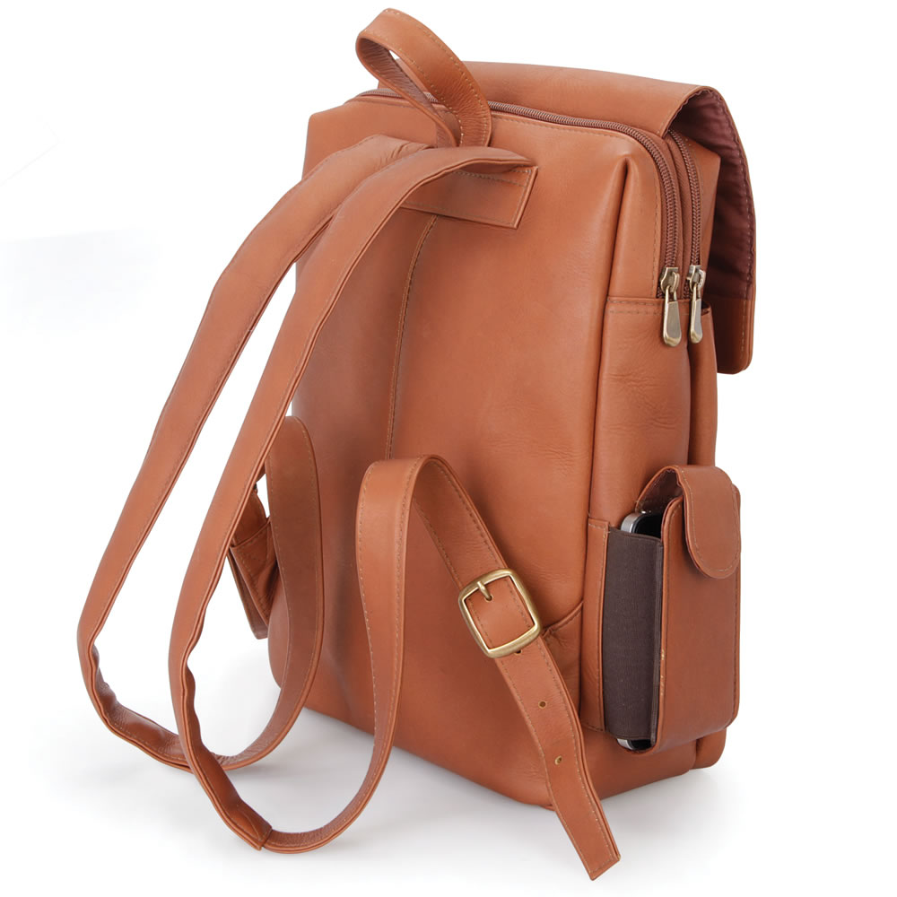 The iPad Leather Backpack 3