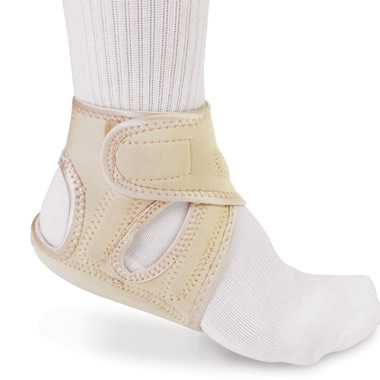 The Plantar Fasciitis Pain Relieving Heel Wraps.