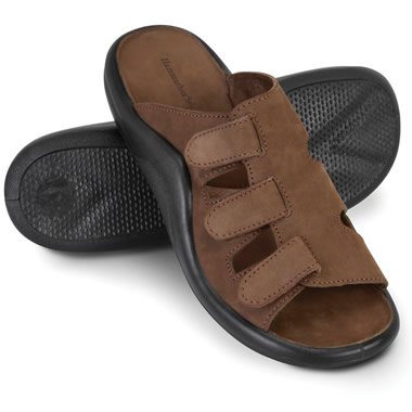 The Gentlemen's Walk On Air Adjustable Sandals.